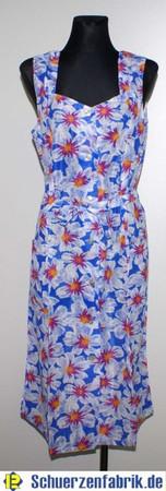 Kleid Trägerkleid Hauskleid Gartenkleid Strandkleid Dederon Nylon