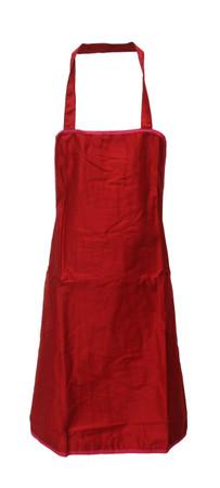 Trägerschürze Latzschürze Schürze Grillschürze Baumwolle/Polyester rot