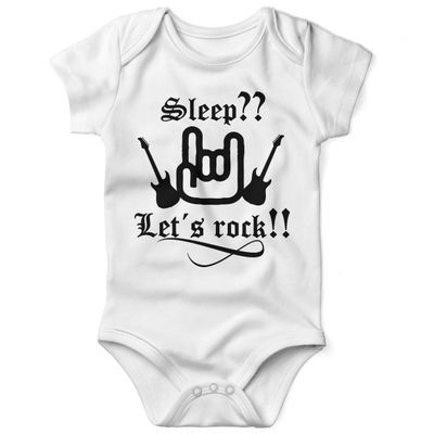 Babybody kurzarm Sleep let s rock