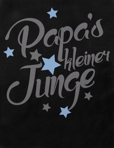 Mikalino Baby / Kinder T-Shirt mit Spruch für Jungen Mädchen Unisex kurzarm Papas kleiner Junge | handbedruckt in Deutschland | Handmade with love