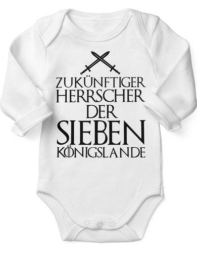 Babybody Langarm Zukünftiger Herrscher der sieben Königslande
