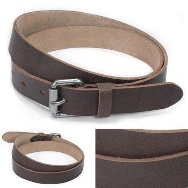 Vinson Ledergürtel Braun 90-105 cm