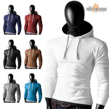 Basic Shirt Hoodies – Bild 1
