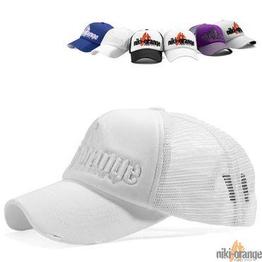 Niki Orange Fashion Cap – Bild 3