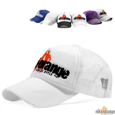 Niki Orange Fashion Cap – Bild 4