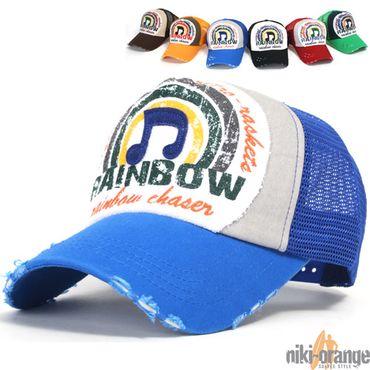 Rainbow Trucker Cap – Bild 3