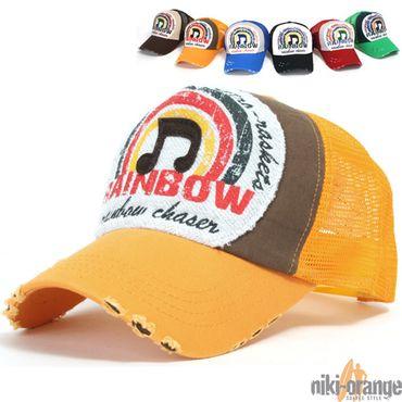 Rainbow Trucker Cap – Bild 6