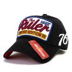 Ruler Baseball Cap schwarz 001