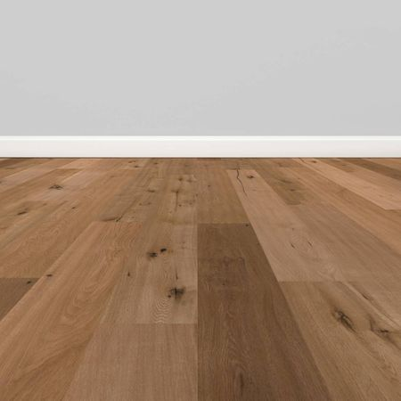 Parquet Pavimento in legno Rovere piallato a mano oliato naturale Plancia unica a 3 strati 1860x189x15mm Collection Earth CE105 – Immagine 3