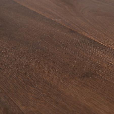 Parquet Pavimento in legno Rovere affumicato spazzolato oliato Plancia unica a 3 strati 1860x189x15mm Collection Earth CE120 – Immagine 8