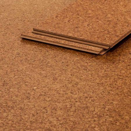 Pavimento Parquet prefinito in sughero verniciato a 3 strati, 900x290x10,5mm Corcasa Gobi – Immagine 1