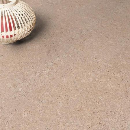 Korkboden Fertigparkett Sinai, matt lackiert weiß, 900x290x10,5mm Click-Parkett CorCasa – Bild 2