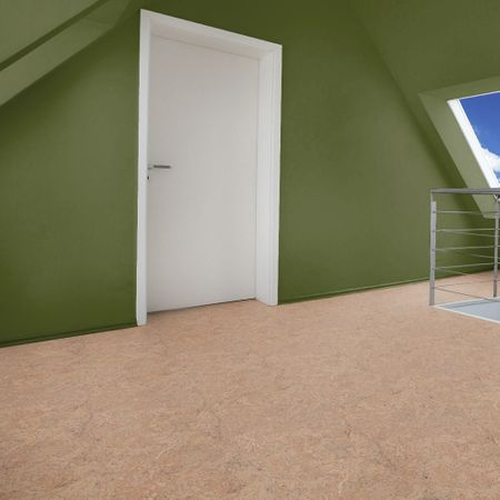Pavimento Parquet prefinito in sughero verniciato sabbia a 3 strati, 900x290x10,5mm Corcasa Hammada