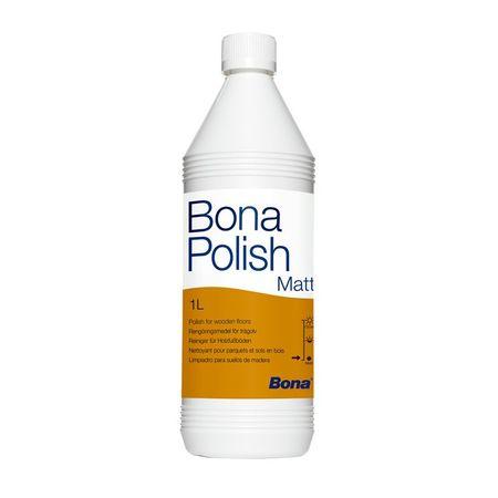 Bona Polish Matt 1l, cera specifica per il trattamento di pavimenti opachi