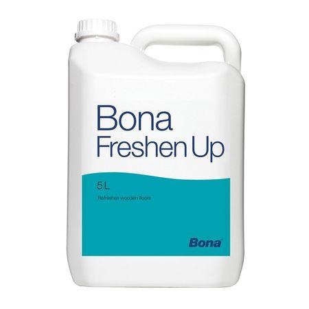 Bona Freshen Up 5l, Rinfrescante per parquet verniciato, dona nuova lucentezza al legno