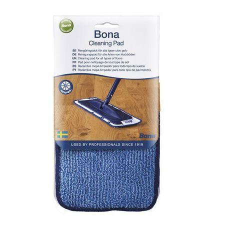 Bona Cleaning Pad, panno in microfibra per l'applicazione del Detergente per pavimenti in legno
