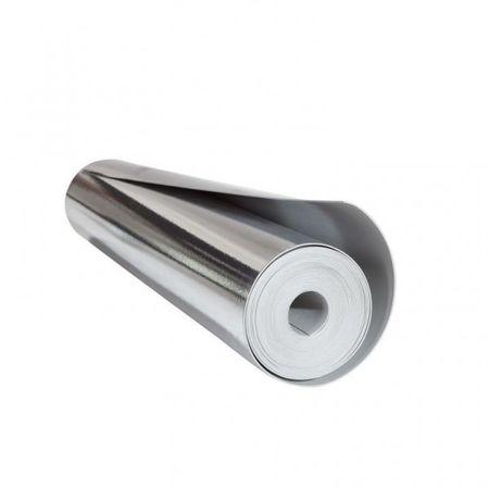 Materassino isolante fonoassorbente Vinsound Plus 2mm con barriera vapore integrata e nastro adesivo in alluminio, sottopavimento per posa flottante di pavimenti in legno e laminato, rotolo da 12,5m² – Immagine 5