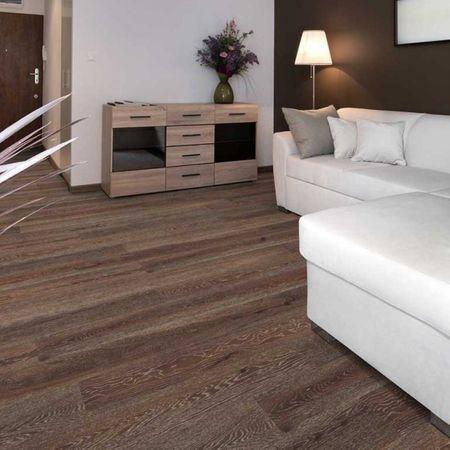 Parquet Pavimento in legno Rovere termotrattato invecchiato trattato con calce oliato, plancia unica a 3 strati 1800x180x14/3,4mm, PD Collection+ CE210 – Immagine 1