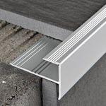 Stock di magazzino %%% Progress Profiles Paragradino Prostep INS PTSAA 105, Alluminio anodizzato, 10,2/22,6x2700mm 001