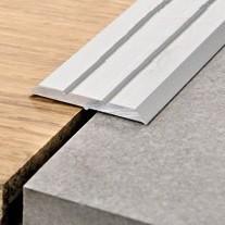 Progress Profiles Profilo Prolevall PLVAA 25A, Alluminio anodizzato Adesivo 25x2700mm – Immagine 1