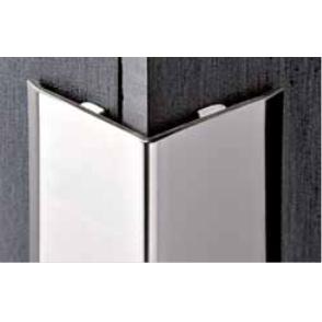 Restposten -30% für Progress Profiles Winkelprofil Proedge PEGACS 20A Edelstahl satiniert, 20x20x2700mm – Bild 1