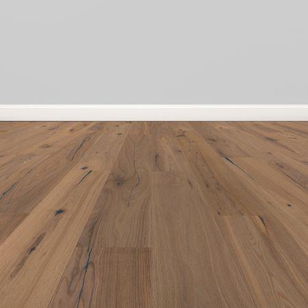 Parquet Pavimento in legno Rovere Rustico spazzolato oliato bianco Plancia unica a 3 strati 1900x190x14mm Collection Earth CE142 – Immagine 5