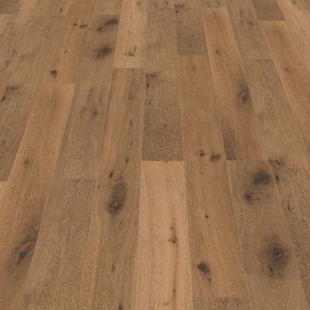 Parquet Pavimento in legno Rovere affumicato piallato a mano oliato naturale, Plancia unica a 3 strati 1830x190x14mm Collection Earth CE147 – Immagine 5
