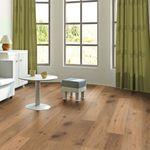 Parquet Pavimento in legno Rovere affumicato piallato a mano oliato naturale, Plancia unica a 3 strati 1830x190x14mm Collection Earth CE147 001
