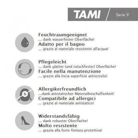 Pavimento in vinile Legno Alpino Grigio, Plancia unica a 1228x188x2,5mm, PVC / LVT vinilico da incollare, TAMI – Immagine 4