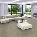 Pavimento in vinile SPC Driftwood, Plancia unica 1220x181x5,5mm, strato di usura 0,5mm, materassino integrato, TAMI XTR 001