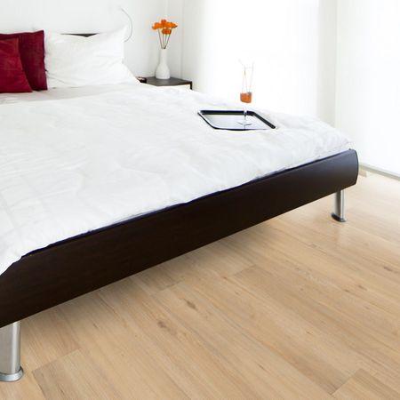 Vinylboden Designervinyl Eiche Naturhell 1-Stab-Landhausdiele 1210x180x8,5mm mit HDF-Trägerplatte, Vinyl-Parkett TAMI XTR