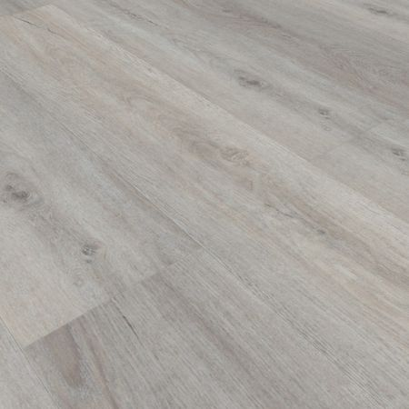 Pavimento in vinile SPC Rovere Light Grey 01, Plancia unica 1800x225x5,5mm, strato di usura 0,5mm, materassino integrato, TAMI XL – Immagine 1