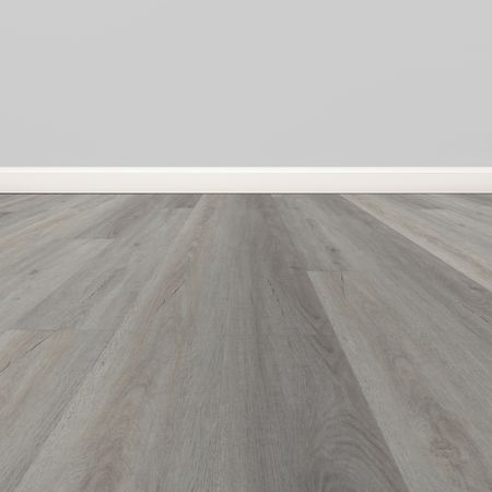 Pavimento in vinile SPC Rovere Light Grey 01, Plancia unica 1800x225x5,5mm, strato di usura 0,5mm, materassino integrato, TAMI XL – Immagine 2