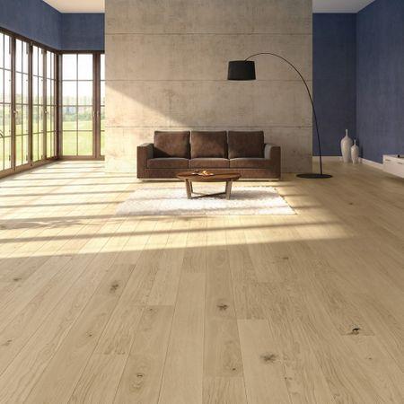 Parquet Prefinito in legno Rovere Country spazzolato oliato effetto grezzo plancia unica a 3 strati 2200x182x14/3,5mm Edition Europa+ EE150 – Immagine 3