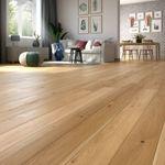 Parquet Prefinito in legno Rovere Unique spazzolato oliato naturale plancia unica a 3 strati 2200x148x14/3,5mm Edition Europa+ EE155 001
