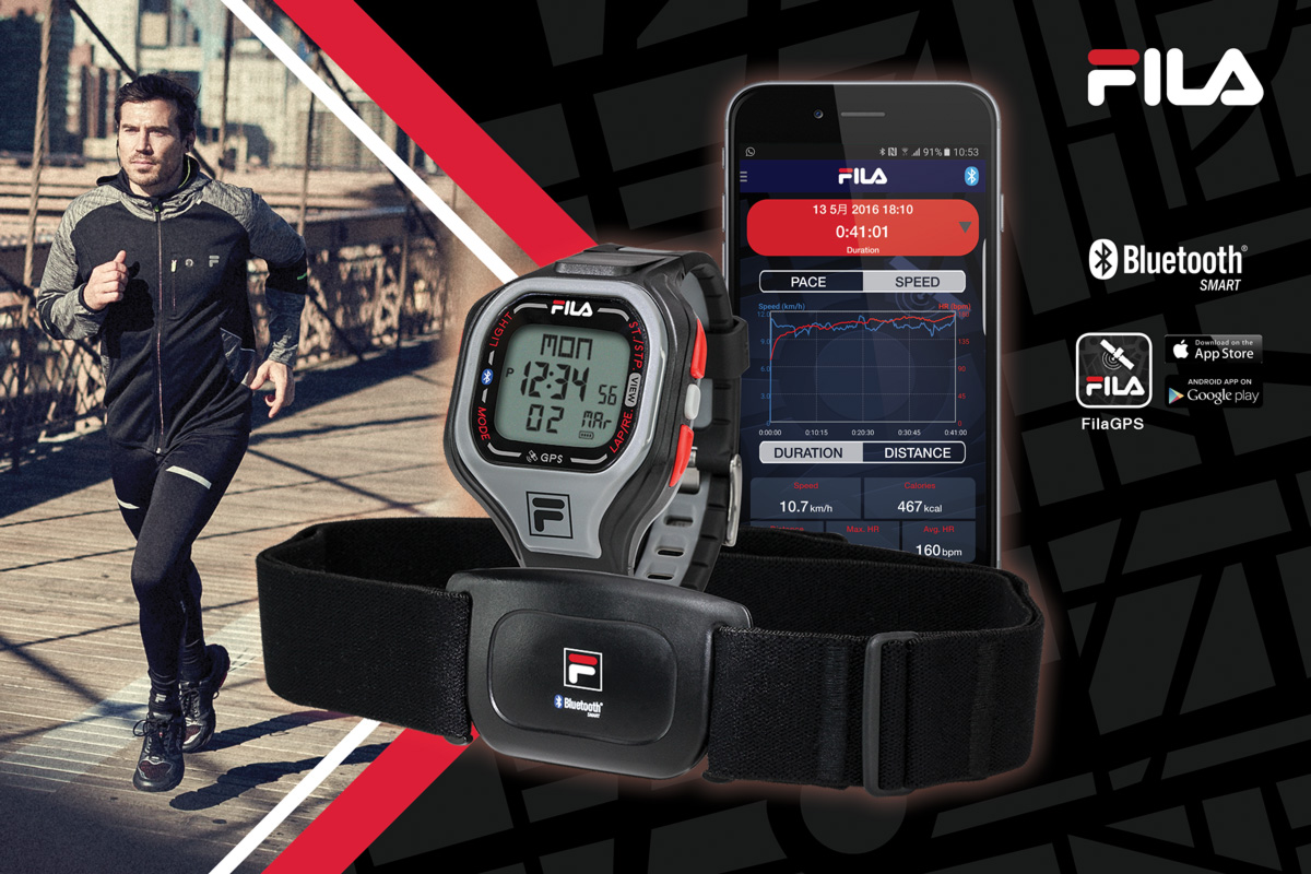 FILA Bluetooth GPS