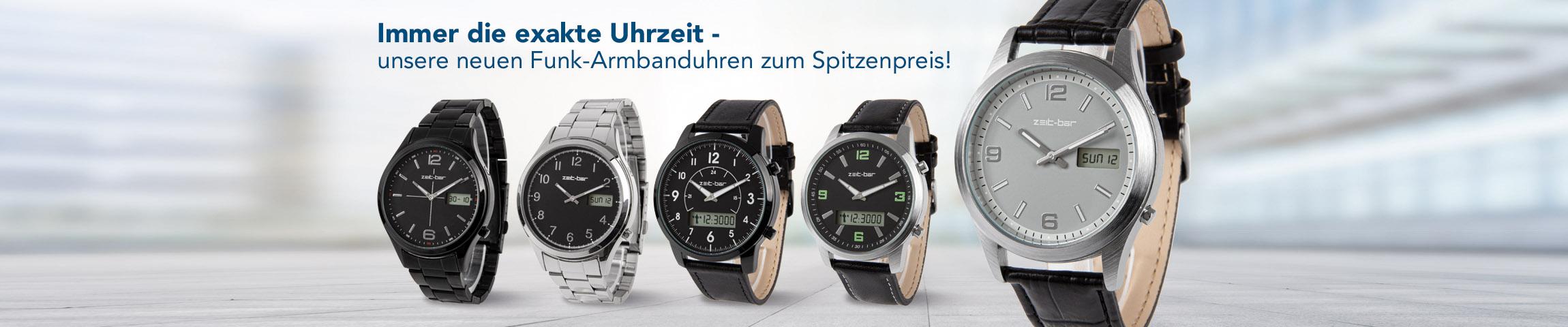 Funk-Armbanduhren