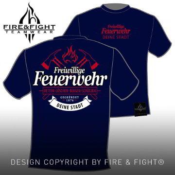 Freiwillige-Feuerwehr-T-Shirt-navy-weiss-rot