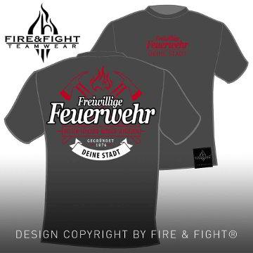 Freiwillige-Feuerwehr-T-Shirt-grau-weiss-rot