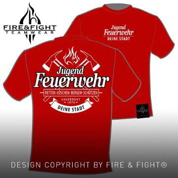 Freiwillige-Feuerwehr-T-Shirt-rot-weiss