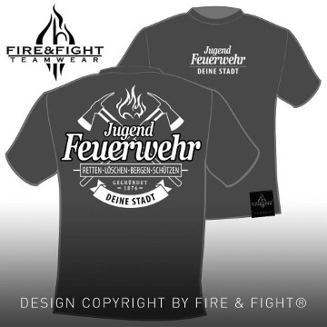 Freiwillige-Feuerwehr-T-Shirt-grau-weiss