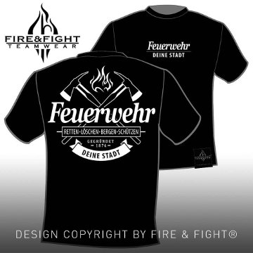 Authentic-FW-Chart-T-Shirt-black-weiss