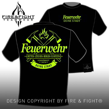 Authentic-FW-Chart-T-Shirt-black-neon