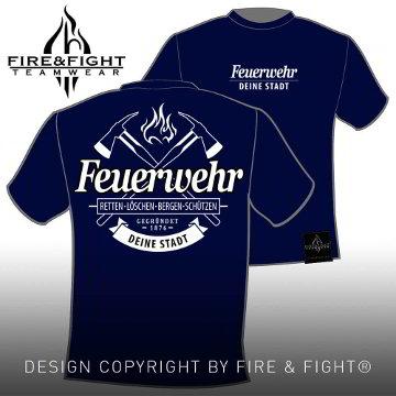 Freiwillige-Feuerwehr-T-Shirt-navy-weiss