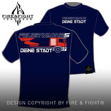 Drehleiter_Chart-FWache-Image-T-Shirt_navy