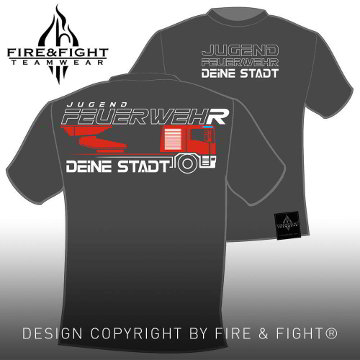 Drehleiter_Chart-JugendFW-Image-T-Shirt_darkgrey