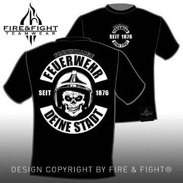 Skull-Chart-T-Shirt-black-weiss