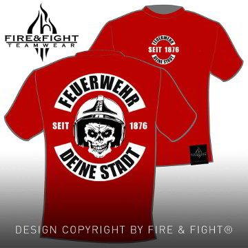 Skull-Chart-FW-T-Shirt-rot-weiss