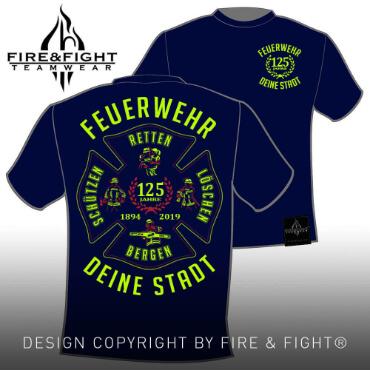 Klassik-Chart-T-Shirt-black-FW-Leidenschaft-neongelb