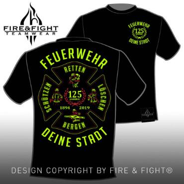 Klassik-Chart-T-Shirt-black1-FW-Leidenschaft-neongelb
